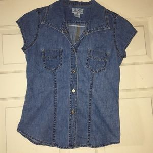 Blue Jean fitted shirt size 8